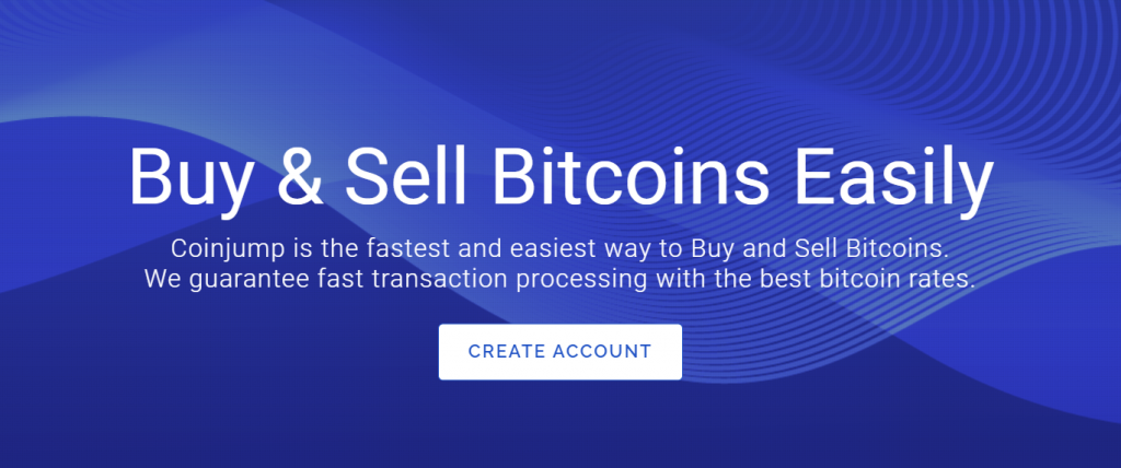 CoinJump exchange platform