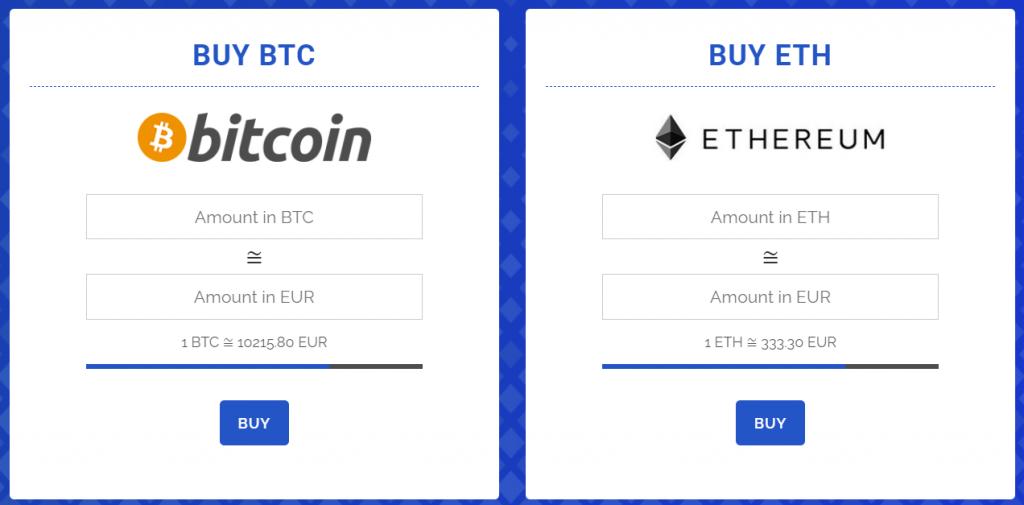 CoinJump buy rates