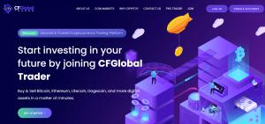trade crypto with CFGlobal Trader platform