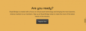 register with Royal Bridge